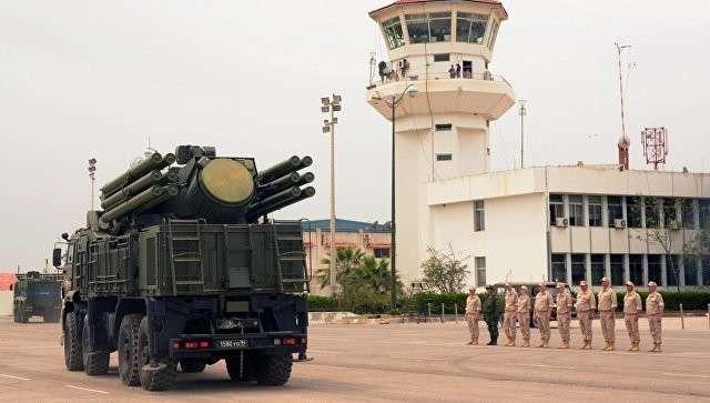 Россия усилила систему ПВО авиабазы Хмеймим в Сирии