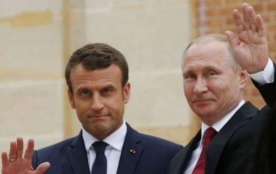 Эммануэль Макрон предложил европейским членам НАТО создать военный союз с РФ и Турцией
