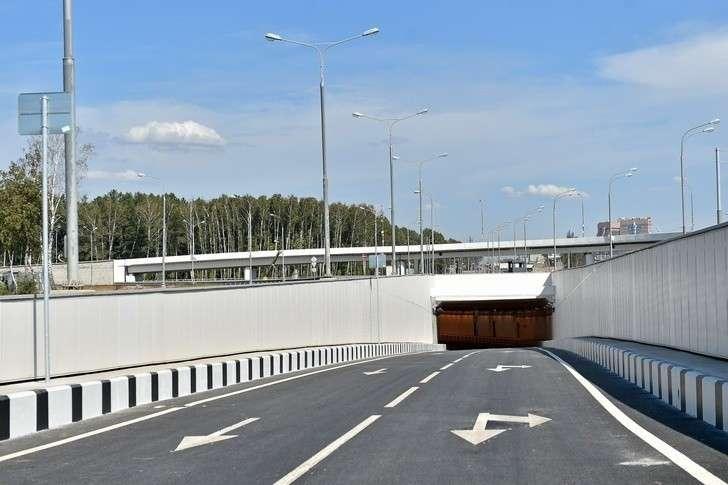 ВНовой Москве открыли трассу между Калужским иКиевским шоссе