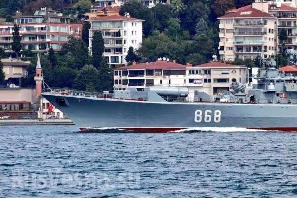 Мощная эскадра ВМФ России пришла в Сирию, напугала НАТО и изменила расклад сил | Русская весна