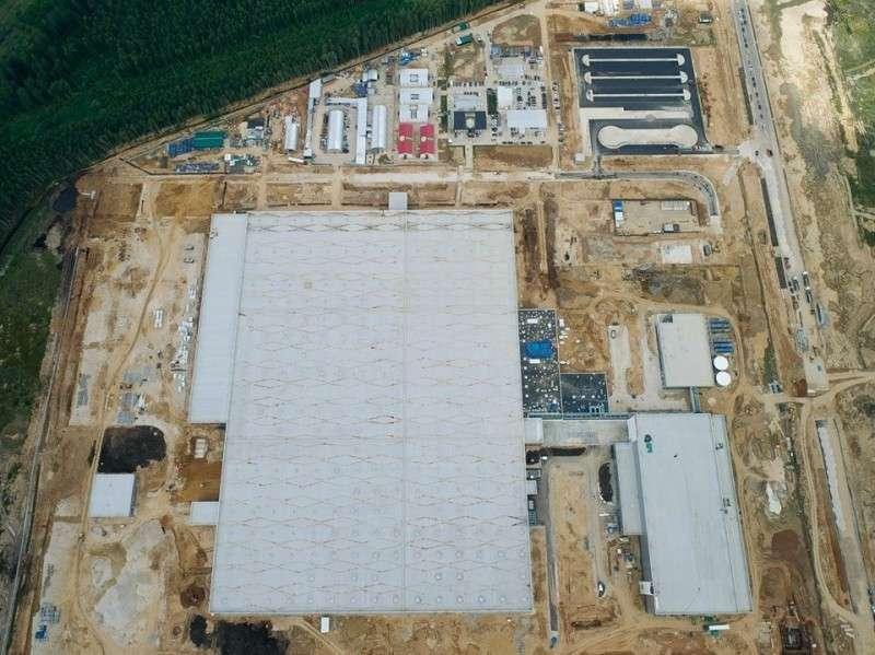 Строительство завода Мерседес вМосковской области