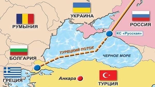 Газопровод «Турецкий поток» готов на 80% протяжённости