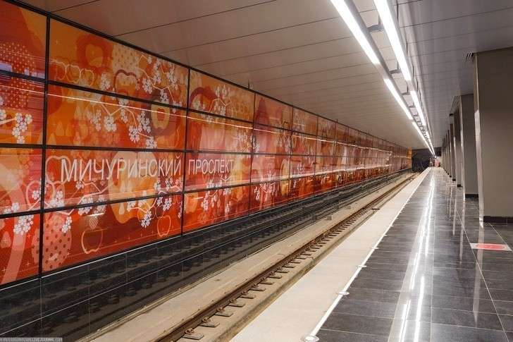 ВМоскве открыли 7 новых станций метро иэлектродепо «Солнцево»