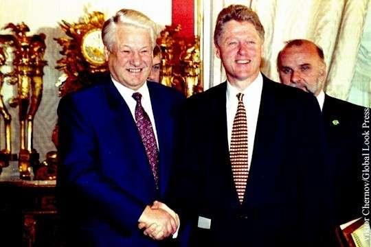 Ельцин отчитывался Клинтону о Путине и Крыме. Рассекреченные документы США