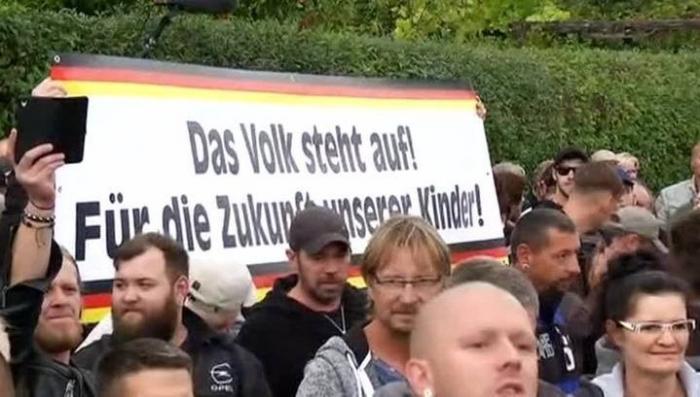 Германия. Акции протеста против мигрантов охватили страну