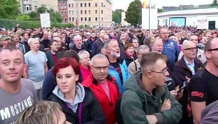 Хемниц: немцы бунтуют против мигрантов