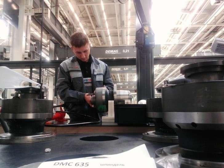 Новое производство наУльяновском станкостроительном заводе
