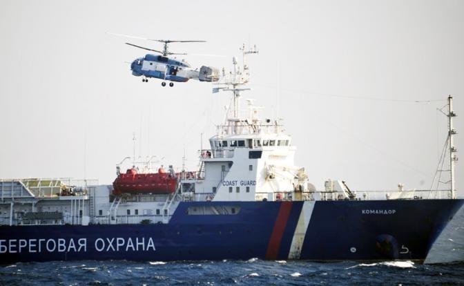 Свой конфуз в Сирии США прикрывают «кошмаром» русских в Азовском море