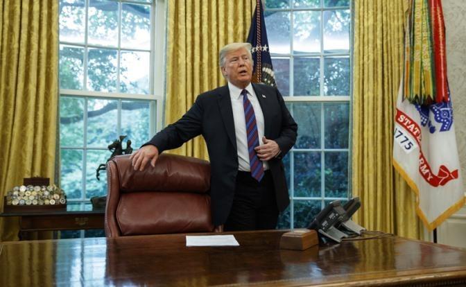 Дональд Трамп упорно толкает мир к краху глобализации