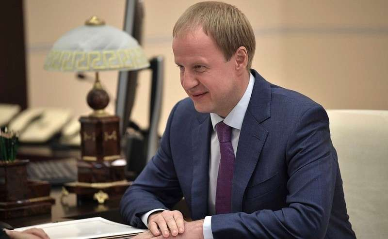 Временно исполняющий обязанности губернатора Алтайского края Виктор Томенко.