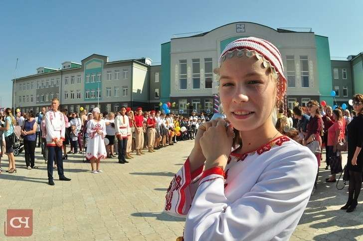ВЧувашии открылась новая школа на1200 учеников