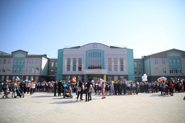 Чувашия. Открылась новая школа на1200 учеников