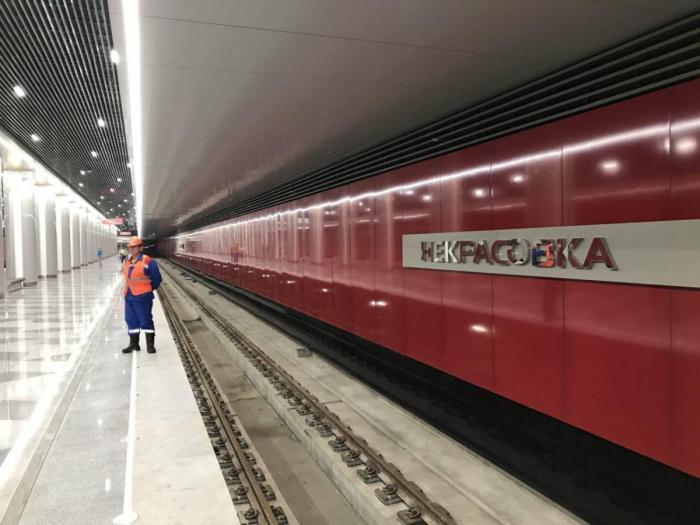 Москва. Строительство станций метро «Некрасовка» и «Лухмановская» приближается к финалу