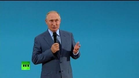 Владимир Путин поздравил российских учащихся с Днём Знаний