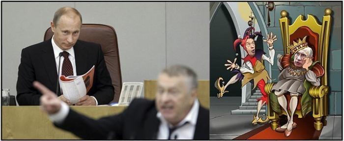Жириновский озвучил народу то, что хочет, но не может сказать Путин
