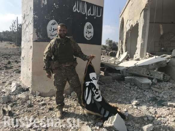 ВКС России и правительственная армия Сирии выжигают в каменных норах остатки ИГИЛ | Русская весна