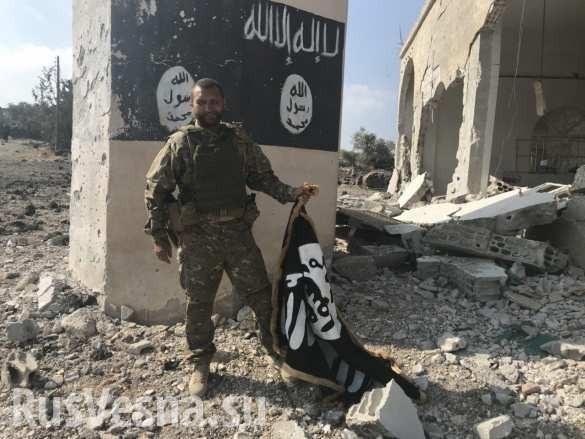 ВКС России и правительственная армия Сирии выжигают в каменных норах остатки ИГИЛ