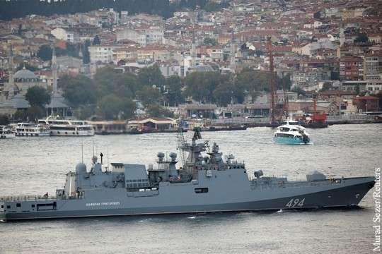 Сможет ли ВМФ России противостоять флоту США у берегов Сирии