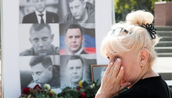 В Донецке проститься с Александром Захарченко пришли тысячи людей