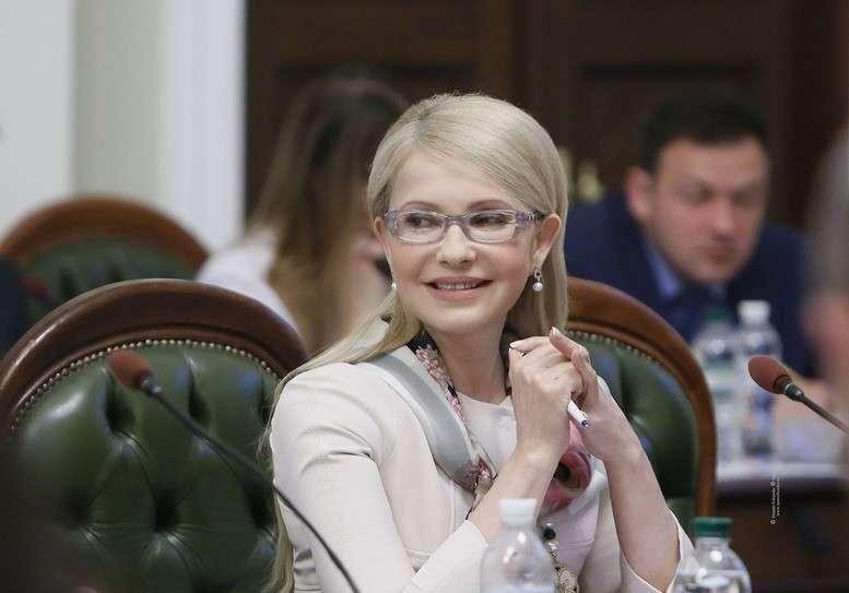 Юлия Тимошенко (Капительман) стала абсолютным лидером президентской гонки Украины