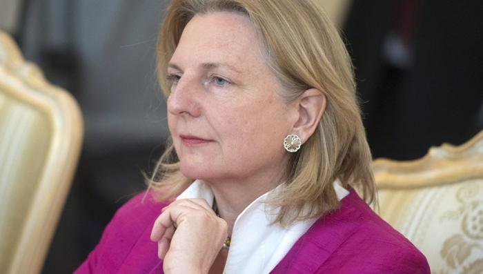 Глава МИД Австрии призвала кардинально пересмотреть отношения к России