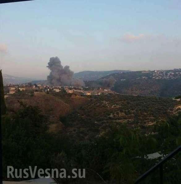 ВВС террористического Израиля атаковали Сирию, часть ракет сбита силами ПВО | Русская весна