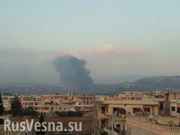 ВВС террористического Израиля атаковали Сирию, часть ракет сбита силами ПВО