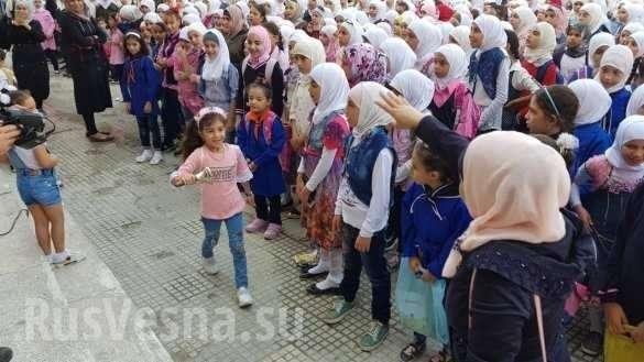 Сирия. Армия России совершила маленькое гуманитарное чудо в Восточной Гуте | Русская весна