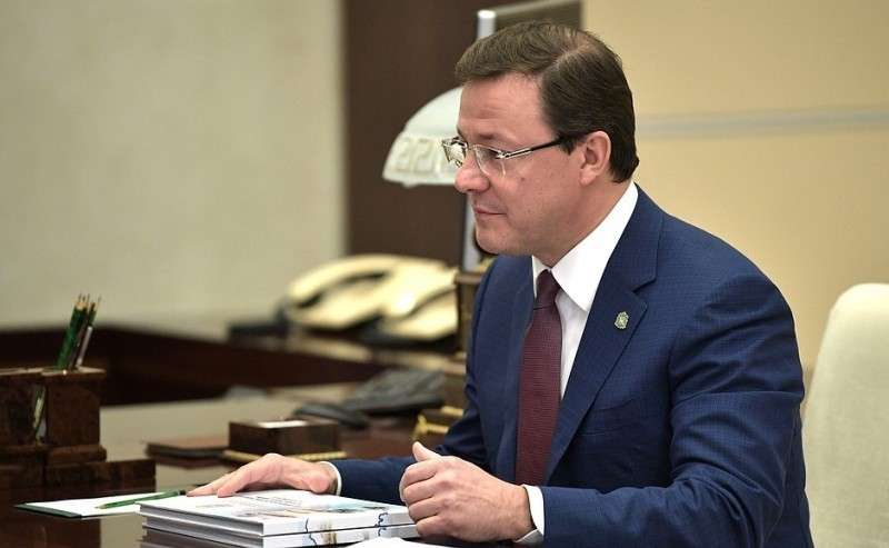 Временно исполняющий обязанности губернатора Самарской области Дмитрий Азаров.