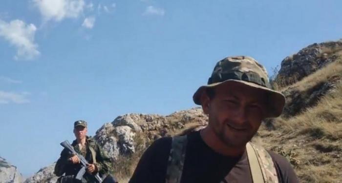 В Крымских горах над госдачами ЮБК люди с автоматами гоняют туристов