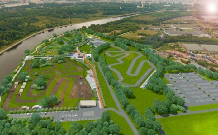 ВМоскве на месте бывшей нелегальной свалки открыт городской парк технических видов спорта