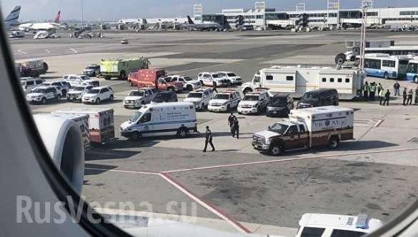 В США вспышка неизвестной болезни мгновенно поразила пассажиров авиалайнера | Русская весна