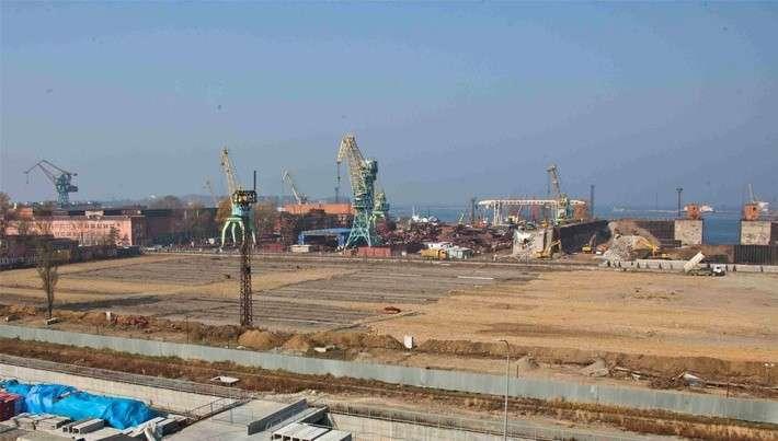 Возведение судостроительного комплекса «Звезда»