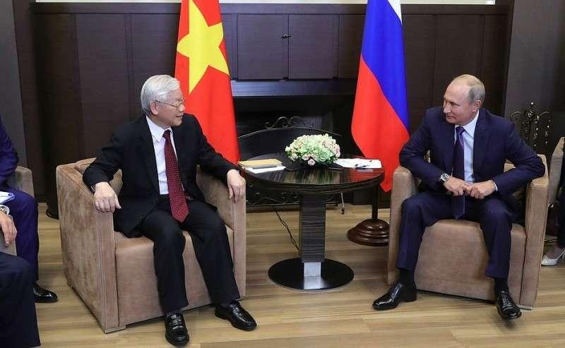 C Генеральным секретарём Центрального комитета Коммунистической партии Социалистической Республики Вьетнама Нгуен Фу Чонгом.