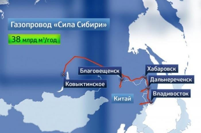 Газопровод «Сила Сибири» готов на 93%. Сварено и уложено 2010 км труб