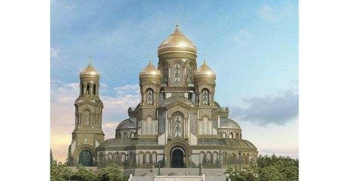 Минобороны РФ готовится построить собственный храм