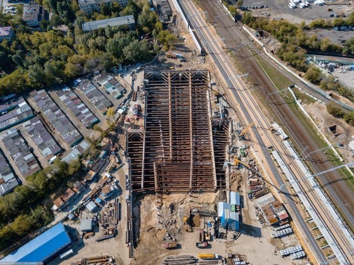 В Москве идёт строительство самой большой станции метро – «Нижегородская»