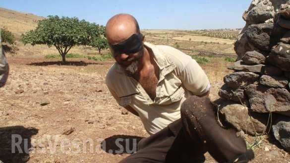 Сирия: захваченный спецназом игиловец сдал своих хозяев из США | Русская весна