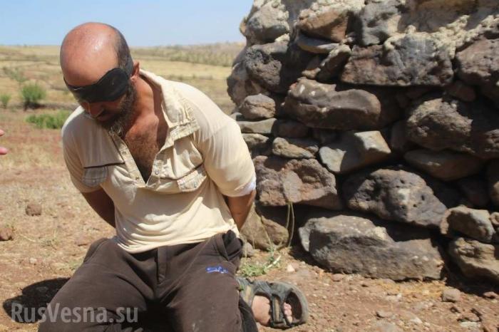 Сирия: захваченный спецназом игиловец сдал своих хозяев из США