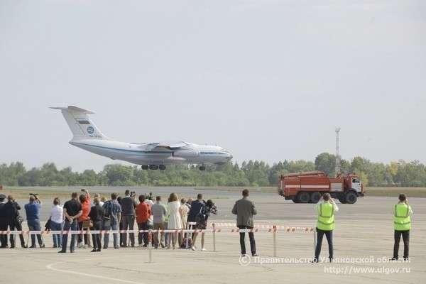 ВУльяновской области после реконструкции открылся международный аэропорт имени Н. М. Карамзина