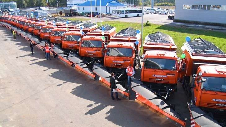 Сорок машин производства ОАО«КОРМЗ» переданы дорожникам Башкирии