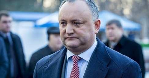Президент Молдавии Игорь Додон попал в серьёзное ДТП