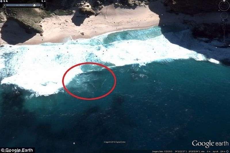 Самолет, который обнаружил Скотт Уаринг, отыскивая следы НЛО у южного берега Африки.