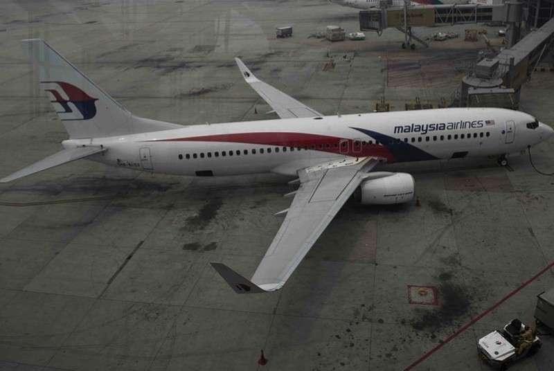 Так выглядел пропавший малазийский Boeing 777-200 рейса MH370.
