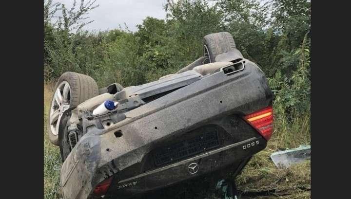 Видео тарана грузовиком машины с Игорем Додоном сняла камера