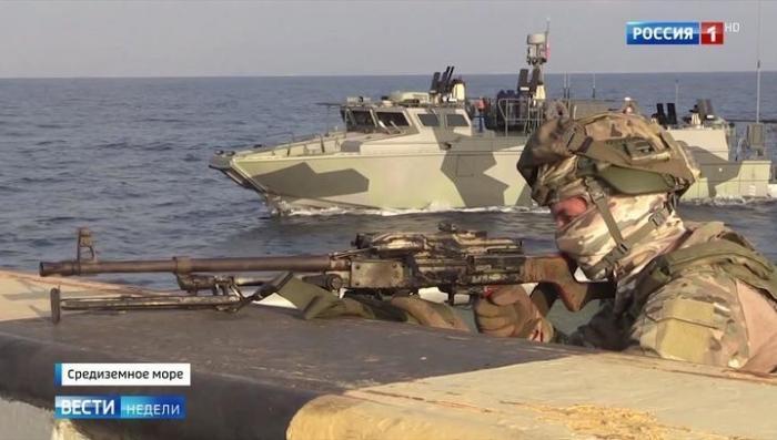 Россия провела уникальные военные учения в Средиземном море