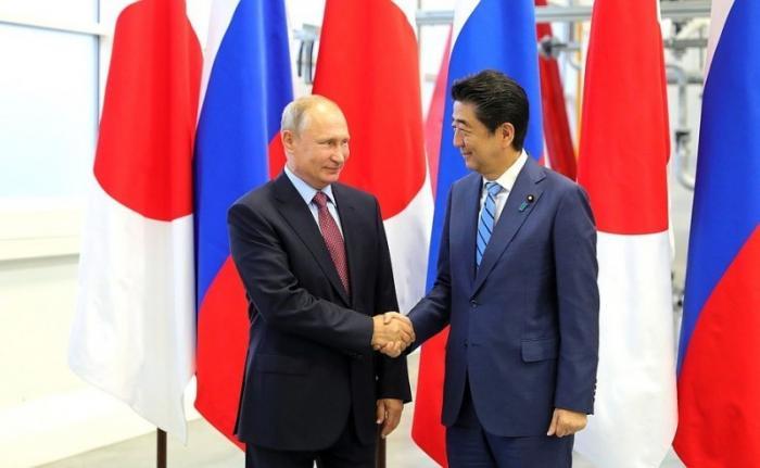 Владимир Путин провёл переговоры с Премьер-министром Японии Синдзо Абэ