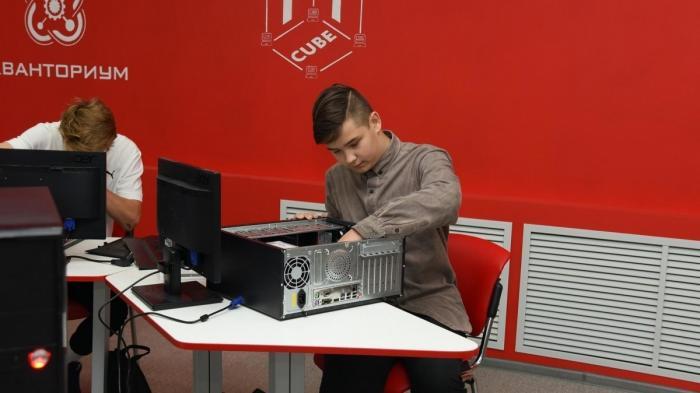 ВВологде открыли первый вРоссии центр IT-творчества для детей