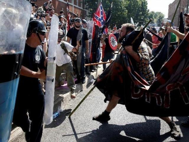 Американская контрреволюция превращается в гражданскую войну