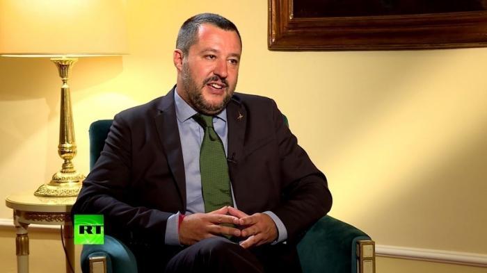Глава МВД Италии Маттео Сальвини о врагах, санкциях и беженцах в ЕС